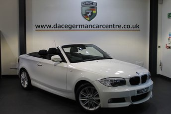 2012 BMW 1 SERIES 2.0 120D M SPORT 2DR 175 BHP £10970.00