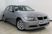 USED 2007 07 BMW 3 SERIES 2.0 318I SE 4DR AUTOMATIC 128 BHP FULL SERVICE HISTORY + MULTI FUNCTION WHEEL + CRUISE CONTROL + CLIMATE CONTROL + PARKING SENSORS + ALLOY WHEELS