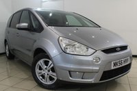 USED 2006 56 FORD S-MAX 2.0 ZETEC TDCI 5DR 143 BHP SERVICE HISTORY + 7 SEATS + CLIMATE CONTROL + MULTI FUNCTION WHEEL + ALLOY WHEELS