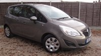 USED 2010 10 VAUXHALL MERIVA 1.4 EXCLUSIV 5d 119 BHP Air Con, FSH, 6 month warranty