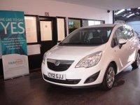 2012 VAUXHALL MERIVA 1.7 EXCLUSIV CDTI 5d AUTO 99 BHP £4995.00