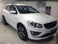 2014 VOLVO XC60 2.4 D5 R-DESIGN LUX NAV AWD 5d AUTO 212 BHP Very High Spec £25000.00