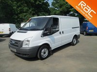 USED 2007 56 FORD TRANSIT 2.2 300 SWB Low Roof 3dr 6M RAC WARRANTY*12M RAC COVER