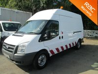 USED 2011 11 FORD TRANSIT 2.4 TDCi 350 LWB High Roof 115 BHP 6 Speed *HEATED SEATS*12M RAC COVER*
