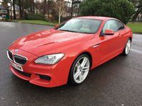 USED 2013 63 BMW 6 SERIES 3.0 640D M SPORT 2d AUTO 309 BHP STUNNING LOOKING CAR WITH FSH IN A BEAUTIFUL COLOUR SCHEME MANY EXTRAS