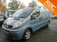 USED 2008 58 RENAULT TRAFIC 2.0 LL29 SPORT QUICKSHIFT 1d AUTO 110 BHP 6M RAC WARRANTY*12M RAC COVER