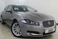 USED 2014 63 JAGUAR XF 2.2 D PREMIUM LUXURY 4DR AUTOMATIC 200 BHP LOW MILEAGE + SAT NAVIGATION + CLIMATE CONTROL + PARKING SENSORS + ALLOY WHEELS