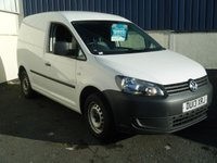 USED 2013 13 VOLKSWAGEN CADDY 1.6 C20 TDI 102 5d 101 BHP
