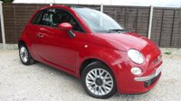 USED 2014 64 FIAT 500 1.3 MULTIJET LOUNGE 3d 95 BHP 1 owner, FSH, £0 road tax!