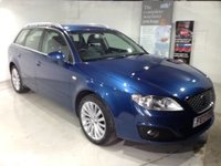 2013 SEAT EXEO 2.0 CR TDI SE TECH PACK 5d Estate 141 BHP £8835.00