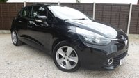 USED 2014 14 RENAULT CLIO 1.5 EXPRESSION PLUS ENERGY DCI S/S 5d 90 BHP 1 owner, £0 tax! Great Spec