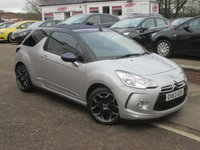 2013 CITROEN DS3 1.6 E-HDI AIRDREAM DSTYLE 3d 90 BHP £7850.00