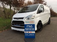 2013 FORD TRANSIT CUSTOM 2.2 270 LIMITED LR MV SPORT 125 BHP SAT NAV AIR CON ALLOYS £13750.00