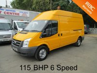 2009 FORD TRANSIT 350 LWB High Roof 2.4 TDCi 115 BHP 6 Speed*62,000* £SOLD