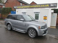 2012 LAND ROVER RANGE ROVER SPORT 3.0 SDV6 AUTOBIOGRAPHY SPORT AUTO, TOP SPEC, REAR ENTERTAINMENT SCREENS, FULL LAND ROVER HISTORY, TWO TONE LEATHER, PX WELCOME £31000.00