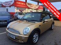 2005 MINI CONVERTIBLE 1.6 COOPER 2d 114 BHP  £4495.00