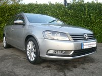 2014 VOLKSWAGEN PASSAT 2.0 EXECUTIVE TDI BLUEMOTION TECHNOLOGY ESTATE START/STOP 140 BHP £12450.00