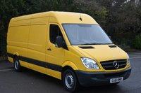 2011 MERCEDES-BENZ SPRINTER 2.1 313 CDI  5d 129 BHP LWB HIGH ROOF DIESEL MANUAL VAN  £6390.00