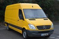 2011 MERCEDES-BENZ SPRINTER 2.1 313 CDI  5d 129 BHP LWB HIGH ROOF DIESEL MANUAL VAN  £5590.00