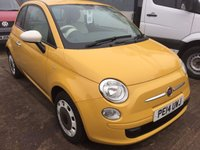 2014 FIAT 500 1.2 COLOUR THERAPY 3d 69 BHP £6995.00