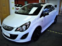 2013 VAUXHALL CORSA 1.2 LIMITED EDITION 3d 83 BHP £5950.00