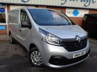USED 2014 64 RENAULT TRAFIC 1.6 SL27 BUSINESS PLUS ENERGY DCI S/R P/V 1d 120 BHP
