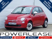 2014 FIAT 500 1.2 COLOUR THERAPY 3d 69 BHP £5479.00
