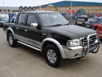 2004 FORD RANGER 2.5 THUNDER D/C 1d 107 BHP NO VAT TO PAY ONE OWNER FROM NEW  £3950.00