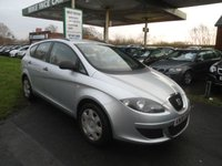 2008 SEAT ALTEA XL 1.6 REFERENCE 5d 102 BHP £2995.00