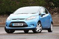 2009 FORD FIESTA 1.2 EDGE 5d 81 BHP £4295.00