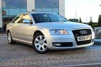 2008 AUDI A8 3.0 TDI QUATTRO SE 4d AUTO 229 BHP £8889.00