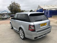 USED 2008 58 LAND ROVER RANGE ROVER SPORT 2.7 TDV6 SPORT S 5d AUTO 188 BHP