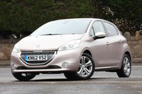USED 2012 62 PEUGEOT 208 1.4 ALLURE 5d 95 BHP Low Rate % Finance Options Available - Good Credit / Bad Credit