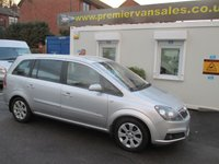 2007 VAUXHALL ZAFIRA 1.6 BREEZE PLUS, 7 SEATER , 12 MONTH M.O.T, NEW CLUTCH, CLIMATE CONTROL, ALLOYS, VERY CLEAN CAR  £1700.00