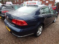USED 2011 11 VOLKSWAGEN PASSAT 2.0 SE TDI BLUEMOTION TECHNOLOGY 4d 139 BHP FULL SERVICE HISTORY, CHEAP ROAD TAX