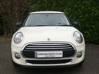 2014 MINI HATCH ONE 1.2 ONE 3d MEDIA XL PACK START/STOP 102 BHP £8650.00