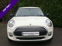 2014 MINI HATCH ONE 1.2 ONE 3d MEDIA XL PACK START/STOP 102 BHP £10000.00