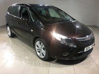 USED 2014 14 VAUXHALL ZAFIRA TOURER 2.0 SRI CDTI 5d AUTO 162 BHP