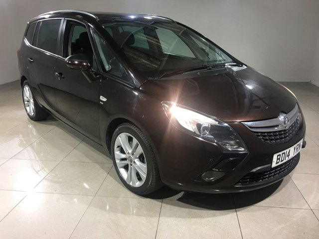 View our 2014 14 VAUXHALL ZAFIRA TOURER 2.0 SRI CDTI 5d AUTO 162 BHP