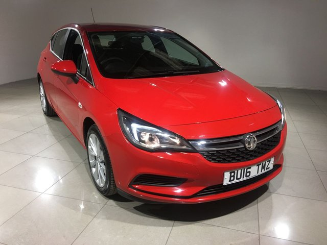 View our 2016 16 VAUXHALL ASTRA 1.4 DESIGN 5d 123 BHP