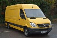 2011 MERCEDES-BENZ SPRINTER 2.1 313 CDI  5d 129 BHP LWB HIGH ROOF DIESEL MANUAL VAN  £6590.00