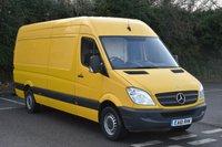 2011 MERCEDES-BENZ SPRINTER 2.1 313 CDI  5d 129 BHP LWB HIGH ROOF DIESEL MANUAL VAN  £6790.00