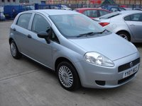 2007 FIAT GRANDE PUNTO 1.2 ACTIVE 8V 5d 65 BHP LOW TAX INSURANCE GROUP IDEAL FIRST CAR  £1850.00