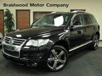2008 VOLKSWAGEN TOUAREG 3.0 V6 ALTITUDE TDI 5d AUTO 221 BHP £10750.00