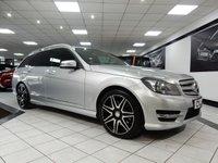 2012 MERCEDES-BENZ C CLASS C350 CDI AMG SPORT PLUS AUTO BLUEEFFICIENCY  £17950.00