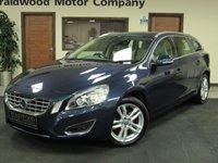 2012 VOLVO V60 2.0 D4 SE LUX 5d 161 BHP £12950.00