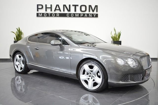 2012 B BENTLEY CONTINENTAL 6.0 GT MDS 2d 567 BHP