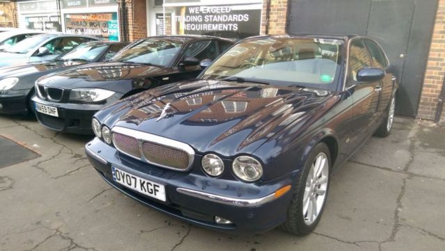 2007 07 JAGUAR XJ 2.7 TDVI SOVEREIGN 4d AUTO 206 BHP