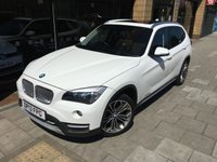 USED 2013 13 BMW X1 2.0 XDRIVE20D XLINE 5d 181 BHP ELECTRIC GLASS ROOF + BROWN LEATHER + HEATED SEATS +DAB + 323 STYLE ALLOYS