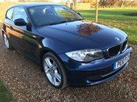 2010 BMW 1 SERIES 2.0 118D SPORT 3d 141 BHP £8000.00
